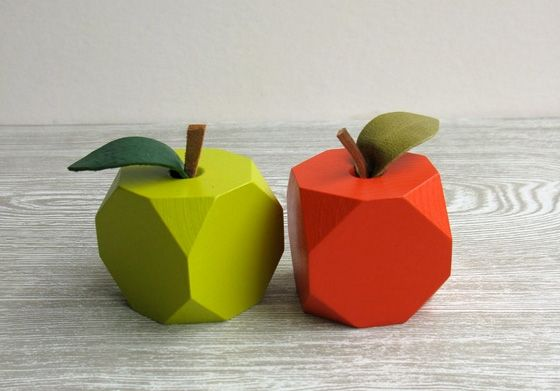 Lo-Res Fruit. would look great in the kitchen in place of your boring fake fruits.