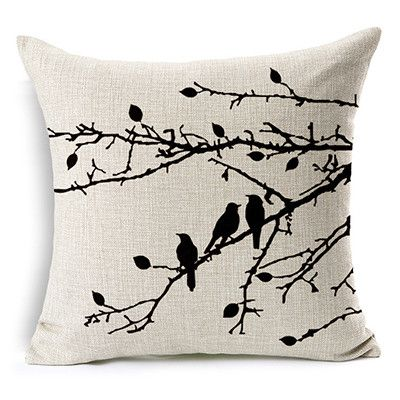 Fashionable Decorative Nature Inspired Beautiful Throw Pillow Covers 6 Designs