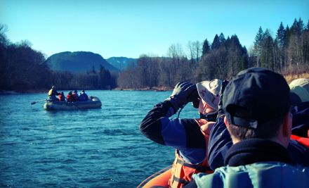 $87 Skagit River Tour with Wine Tasting for Two