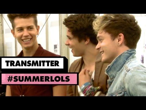 ▶ The Vamps Silent Disco with The Midnight Beast | Transmitter #summerlols - YouTube