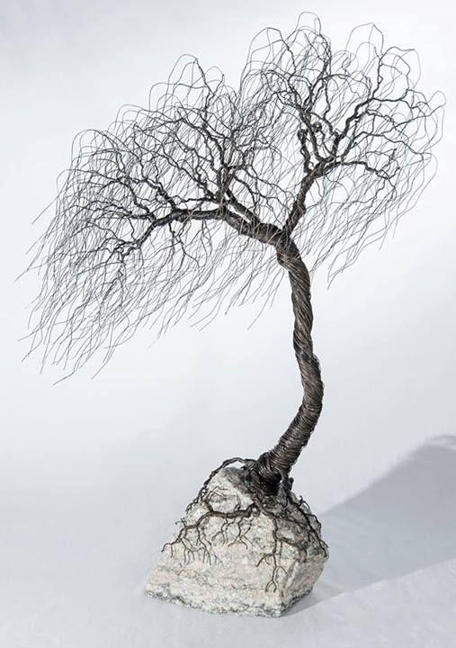 Wire Trees - Imgur | Bizarre & Fascinating | Pinterest | Wire ...