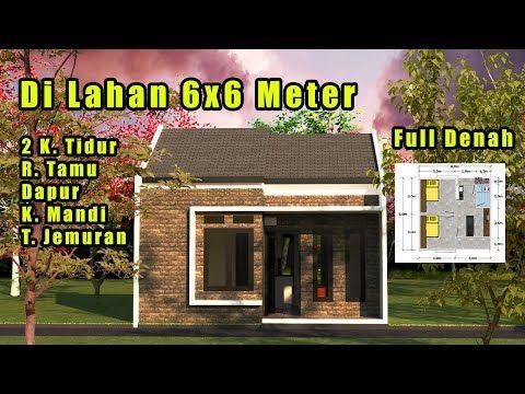 6x6 2 Kamar Tidur Desain Rumah Minimalis Youtube Rumah