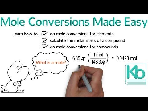 Mole Conversions Made Easy How To Convert Between Grams And Moles