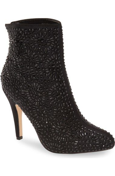 Lauren Lorraine 'Nicole' Pointy Toe Bootie (Women) available at #Nordstrom