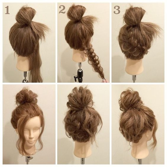 hair bun styles tutorial braided buns buns and tutorials on 3490