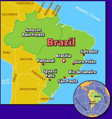 Brazil Sightseeing Guide   TIME For Kids