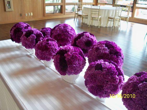 carnation spheres