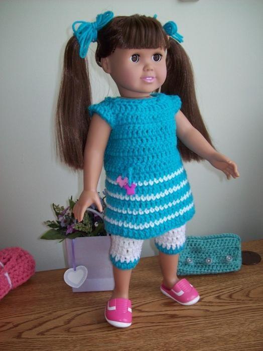 7 Best Crochet Clothing For Dolls Images On Pinterest Crochet