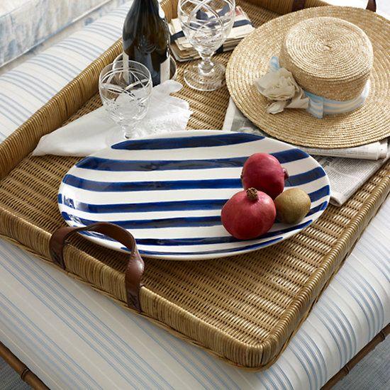 Nautical Stripe Home Decor