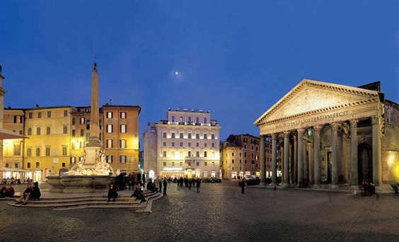 We loved the hotel in Rome, the del Senato. Literally just steps from the Pantheon. You can't beat the location.