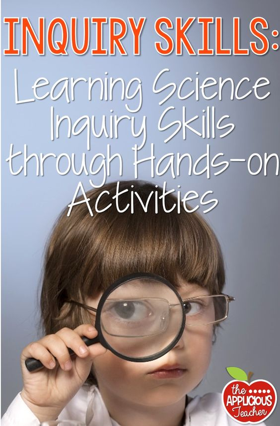 Hands-on activities for exploring science inquiry! Experiments, observations, and fun! Tons of freebies to help, too!