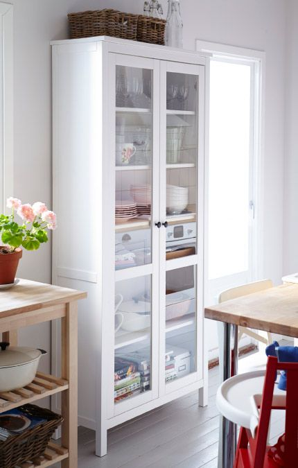 Ikea, Hemnes and Kitchens on Pinterest