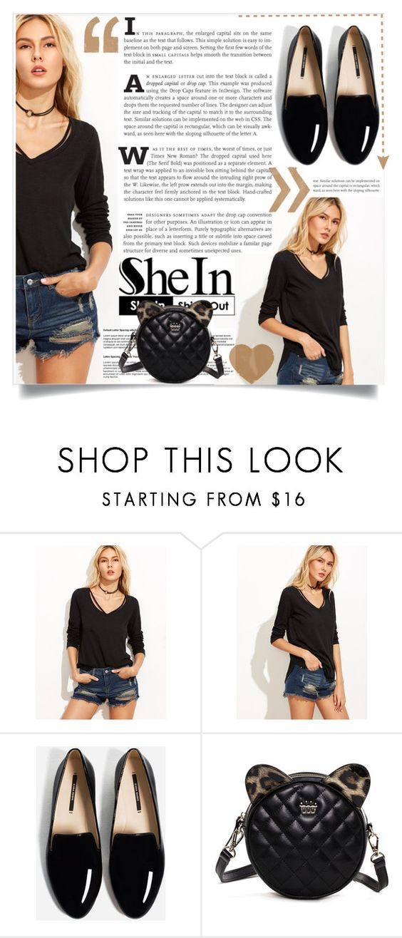 """SheIn"" by ljabii ❤ liked on Polyvore"