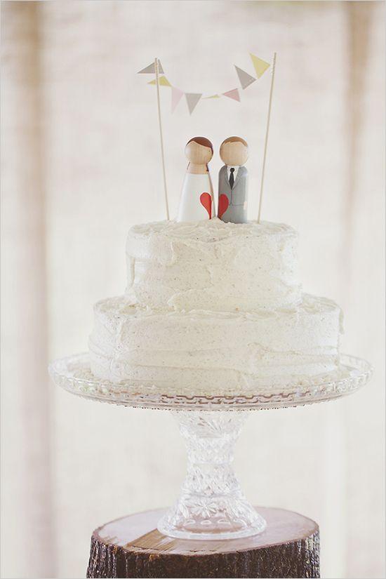 Cute #WeddingCake Toppers
