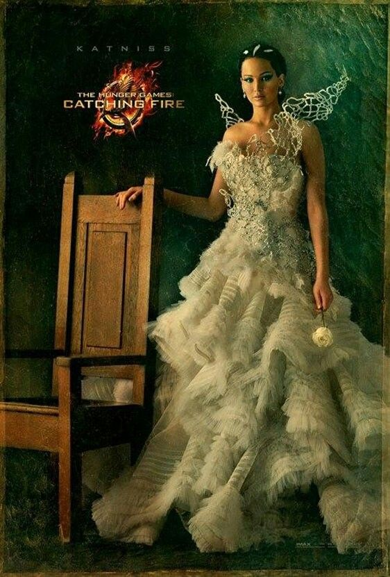 Katniss Looking Flawless - Catching Fire