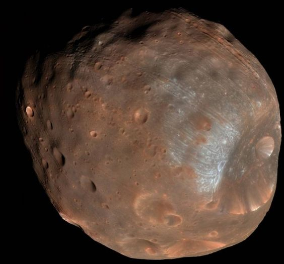Phobos doomed Moon of Mars