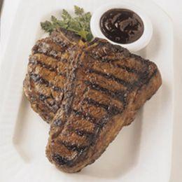 Dry Rubbed Porterhouse Steaks Steak Grilling Recipes Beef Recipes