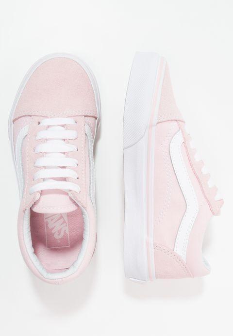 basket vans femme cuir rose