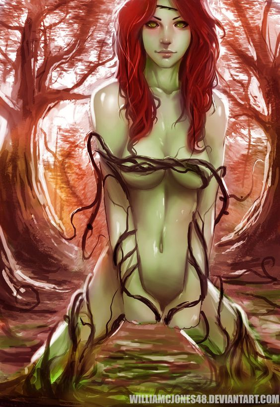 Lovely poison ivy s pussy