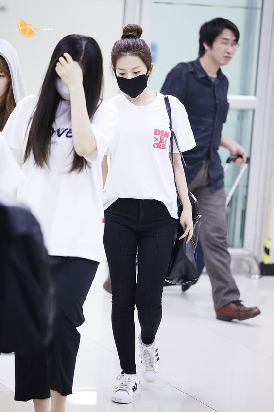 Kpop Airport Fashion And Beauty On Pinterest