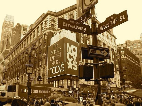 34th St. New York