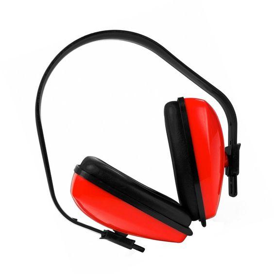 Protector auditivo / Auricular pasivos - Defensores - Protector para oídos (SNR 27db) Color - Rojo: Amazon.es: Bricolaje y herramientas