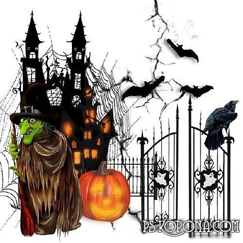 Klipart - My happy Halloween