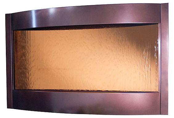 32x52 Indoor Water Fountain, Copper on OneKingsLane.com
