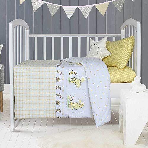 Likeahome Baby Crib Duvet Cover Set 100 Cotton 3 Pieces Duvet