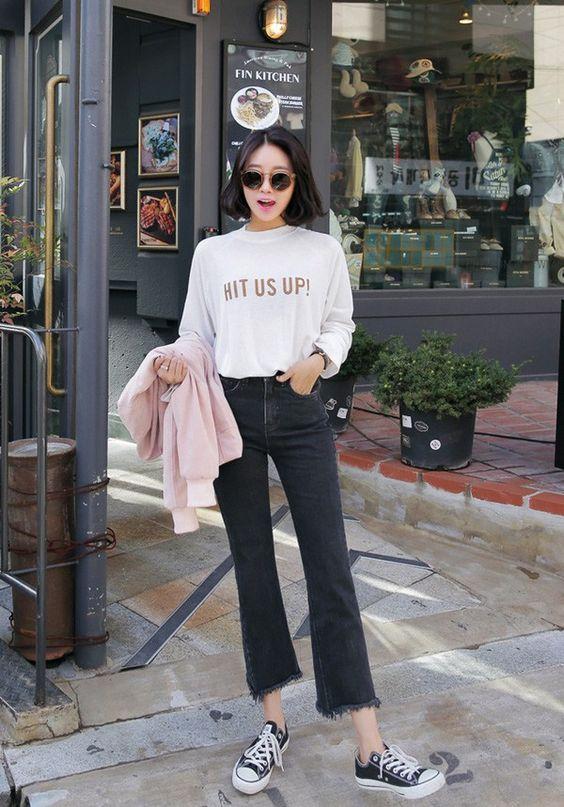 4 lưu ý giúp bạn diện quần jeans ống vẩy max đẹp - Ảnh 12.
