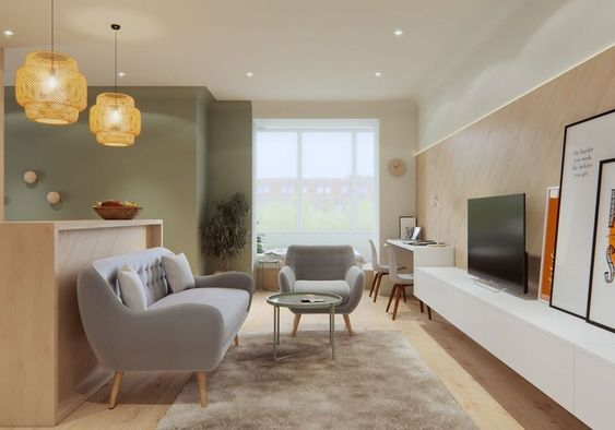 40 Minimalist Living Room Decoration Ideas For Your Apartment