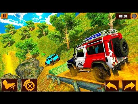 Offroad Jeep Adventure 2019 4x4 Hill Race Drive Mountain