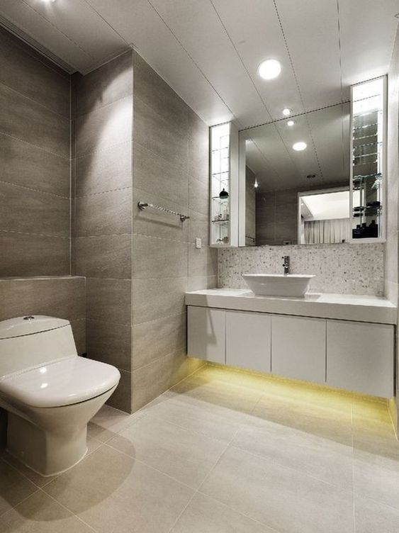 different ways in which you can use led lights in your home bathroom design