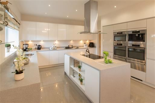 New homes for sale in Ibstock  Leicestershire from Bellway Homes    Cocinitas   Pinterest   Kitchens  Interiors and HouseNew homes for sale in Ibstock  Leicestershire from Bellway Homes  . New Home Kitchen Pictures. Home Design Ideas