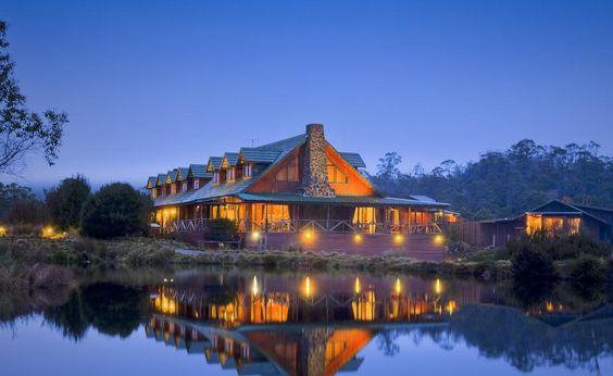Top Honeymoon Destinations in Australia - Peppers Cradle Mountain Lodge, Tasmania - Brisbane Wedding Weekly