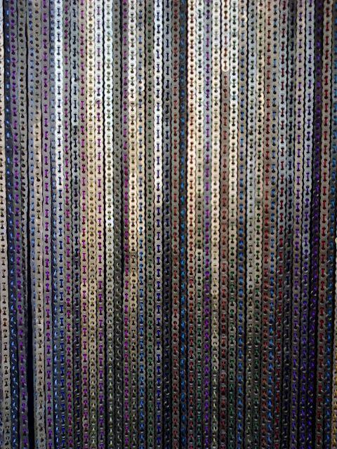 Cortina con anillas de latas anillas de latas - Anillas de cortinas ...
