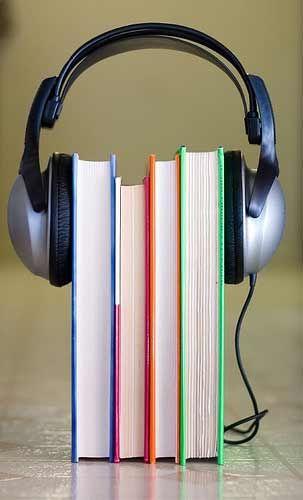 Audiolibros. Escuchar literatura.