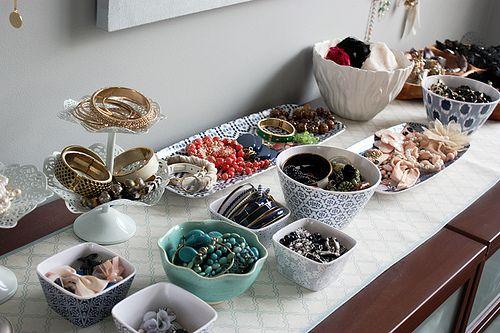 Beautifully Organized Jewelry