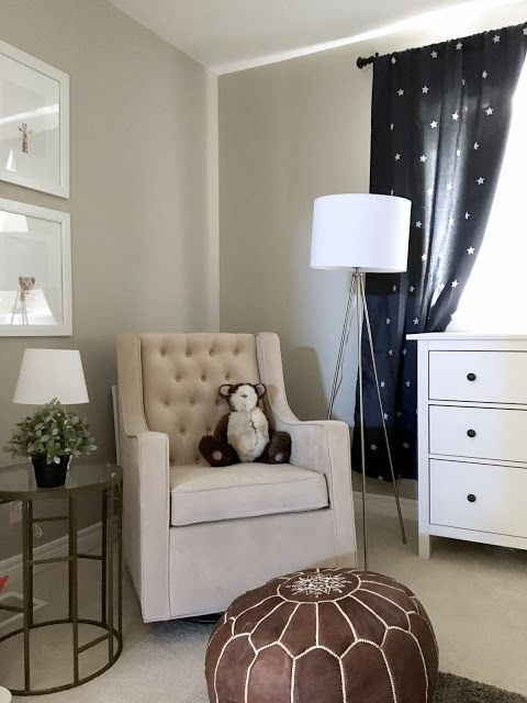 Tripod Floor Lamp 5 Ways Baby Room Neutral