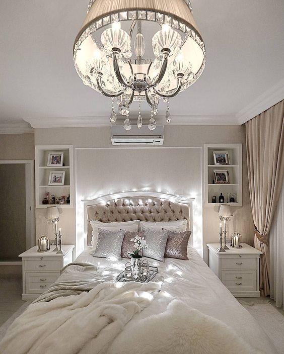 Cream Bedroom Ideas Pinterest In 2020 Romantic Bedroom Design Luxurious Bedrooms Fancy Bedroom