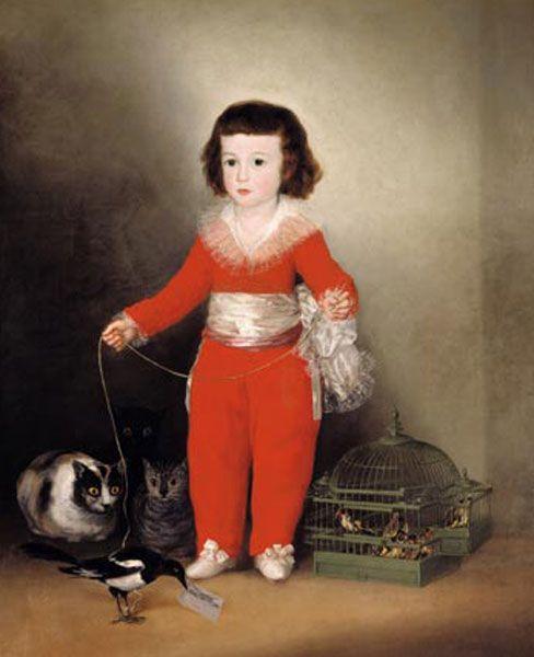 Francisco José de Goya y Lucientes, né à Fuendetodos, près de Saragosse, le 30 mars 1746 et mort à Bordeaux le 16 avril 1828, est un peintre et graveur espagnol.