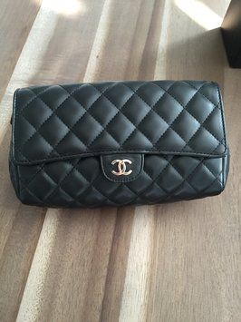 Chanel Flap Black Clutch. Get the trendiest Clutch of the season! The Chanel Flap Black Clutch is a top 10 member favorite on Tradesy. Save on yours before they are sold out!