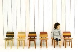 Tone Chair for kids Leif.designpark, a Japan-based design studio