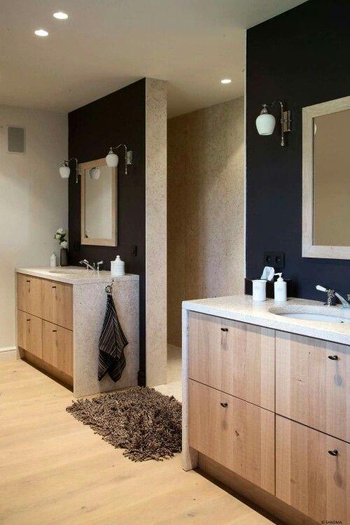 Badkamer landelijke stijl house stuff pinterest tuinen meubels en house - Landelijke badkamer meubels ...