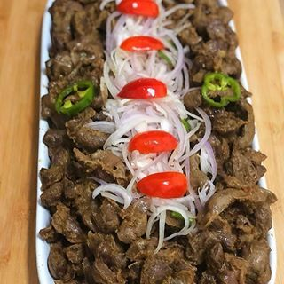 Oya Bring Your Toothpicks Pick One Spicy Gizzard And Move To The Left Foodbankgh African Recipes Nigerian Food Haitian Food Recipes African Food