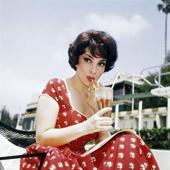 Gina Lollobrigida. This is who I named my Lola Jean after.