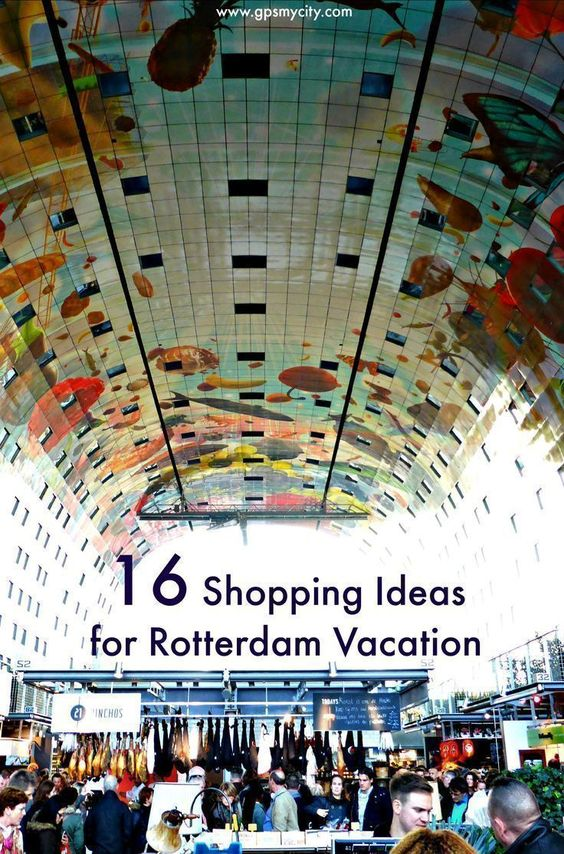Is Rotterdam your next travel destination? Check out this article to discover 16 shopping ideas and bring home locally distinct products!