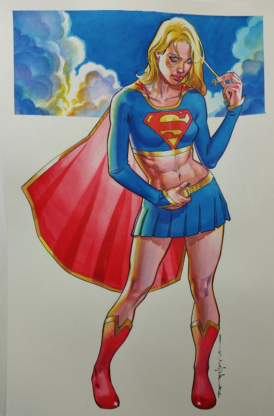 Supergirl by Brian Stelfreeze *