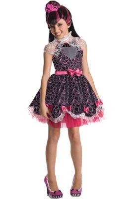 Monster High Deluxe Draculaura Sweet 1600 Child Costume #Halloween #costumes #monsterhigh