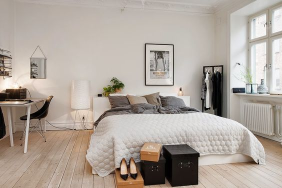 Great Scandinavian Bedroom